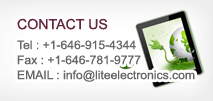 Contact us - Phone Number Customer Service : +82-41-622-6250, Fax Number : +82-41-622-6251, E-mail Administrator : info@liteelectronics.com